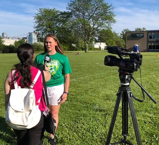 Allison WKBW News Interview