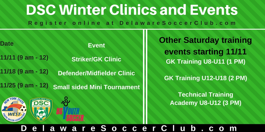 DSC Soccer on Saturdays