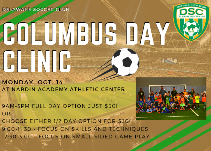 Columbus Day Clinic!