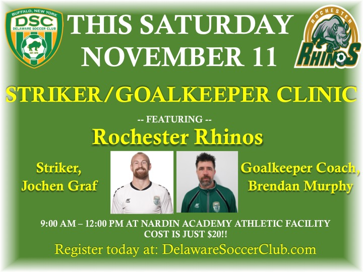 Striker/GK Clinic 11-17